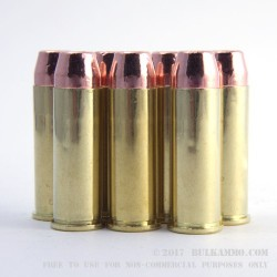 50 Rounds of .44 Mag Ammo by MBI - 240gr FMJ