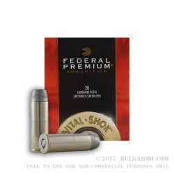 20 Rounds of .44 Mag Ammo by Federal - 300 gr CastCore
