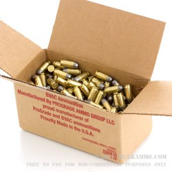 250 Rounds of .45 ACP Ammo by BVAC - 200gr LRNFP