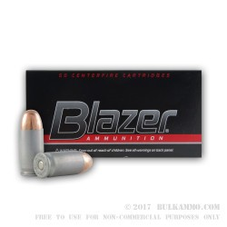 50 Rounds of .45 ACP Ammo by CCI - 230gr TMJ Cleanfire