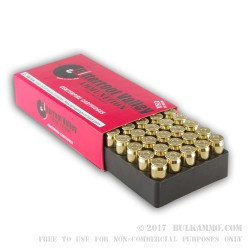 50 Rounds of .45 ACP Ammo by BVAC - 230gr JHP