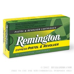 50 Rounds of .45 ACP Ammo by Remington Express - 230gr JHP