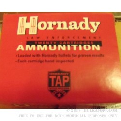 Hornady 45 acp 230 gr +P JHP TAP Defense Ammo For Sale!