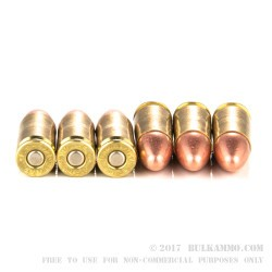 50 Rounds of 9mm Ammo by Estate Cartridge - 115gr FMJ