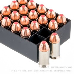 20 Rounds of .45 ACP Ammo by Hornady Critical Defense - 185gr JHP