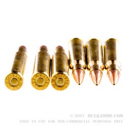 20 Rounds of 30-06 Springfield Ammo by Sellier & Bellot - 168gr HPBT