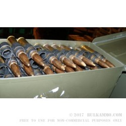 80 Rounds of 50 Cal BMG Ammo Made by Singapore Surplus- 706 gr FMJ