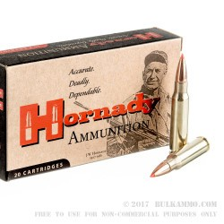 20 Rounds of .308 Win Ammo by Hornady - 150gr SST