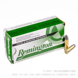 500  Rounds of .38 Spl Ammo by Remington - 158gr LRN