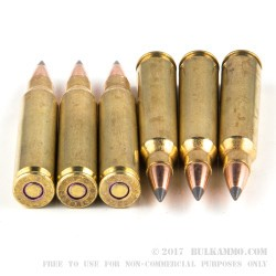 20 Rounds of .223 Ammo by Federal - 50gr Polymer Tipped Boat Tail