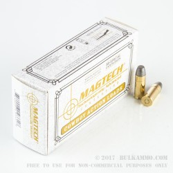 50 Rounds of .44 S&W Spl Ammo by Magtech - 200gr LRN