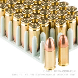 50 Rounds of 9mm Ammo by Prvi Partizan - 158gr FMJ