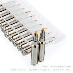 20 Rounds of .308 Win Ammo by Federal Vital-Shok - 180gr Trophy Bonded Tip
