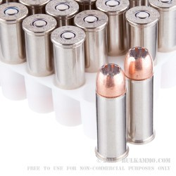 20 Rounds of .44 S&W Spl Ammo by Speer - 200gr JHP