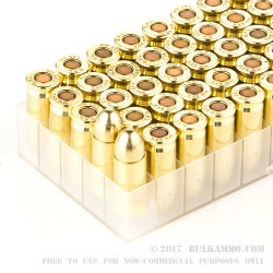 50 Rounds of .32 ACP Ammo by Fiocchi - 73gr FMJ