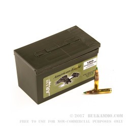 600 Rounds of 5.56x45 Ammo by Federal - 62gr FMJ XM855