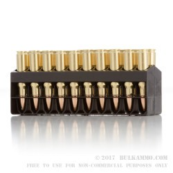 20 Rounds of 6.8 SPC Ammo by Remington Core-Lokt Ultra Bonded - 115gr PSP