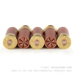 5 Rounds of 12ga Ammo by Hevi-Shot Maximum Defense - 1 ounce T