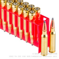 20 Rounds of .308 Win Ammo by Fiocchi - 180gr SPBT