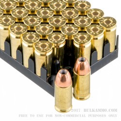 50 Rounds of 9mm Ammo by Sellier & Bellot - 115gr JHP