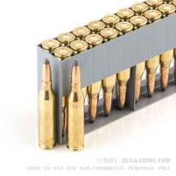 20 Rounds of .243 Win Ammo by Sellier & Bellot - 100gr SP