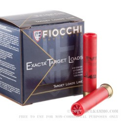 25 Rounds of .410 Ammo by Fiocchi -  #8 shot