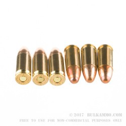 350 Rounds of 9mm Ammo by Prvi Partizan - 124gr FMJ