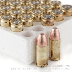 50 Rounds of 9mm Ammo by Corbon - 147gr FMJ