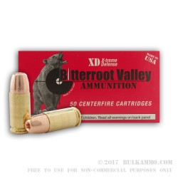 50 Rounds of 9mm New Ammo by BVAC - 115gr JHP
