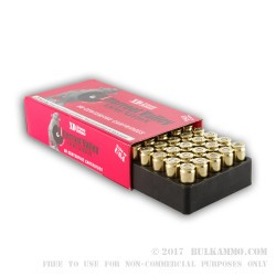 50 Rounds of 9mm Ammo by BVAC - New - 124gr JHP