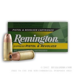50 Rounds of 9mm Ammo by Remington Express - 147gr JHP