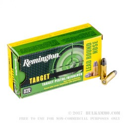 50 Rounds of .32S&W Long Ammo by Remington Target - 98gr LRN