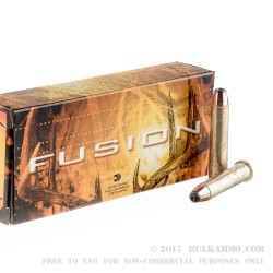 20 Rounds of .45-70 Ammo by Federal - 300 gr Fusion