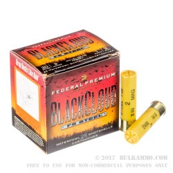 "25 Rounds of 20ga Ammo by Federal BlackCloud - 3"" 1 ounce #2 Shot"