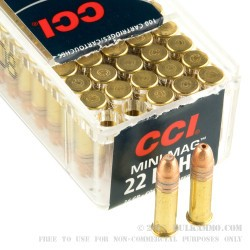 2000 Rounds of .22 LR Ammo by CCI - 36gr CPHP
