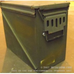 1 Surplus 30mm Ammo Can - Green