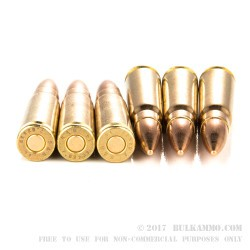 20 Rounds of 7.62x39mm Ammo by Sellier & Bellot - 123gr FMJ