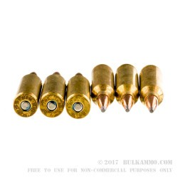 20 Rounds of 7 mm Win Short Mag Ammo by Federal - 150gr SP