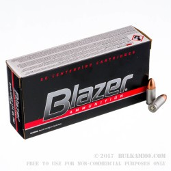 1000 Rounds of 9mm Ammo by CCI - 124gr FMJ