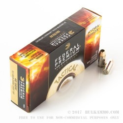 1000 Rounds of .40 S&W Ammo by Federal LE - 165gr JHP Hydra Shok