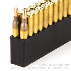 20 Rounds of .338 Lapua Ammo by Hornady - 250gr SP