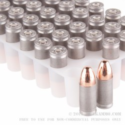 100 Rounds of 9mm Ammo by Independence (Aluminum) - 115gr FMJ