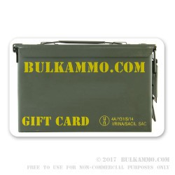 BulkAmmo.com Gift Card: Give the Gift of Ammo