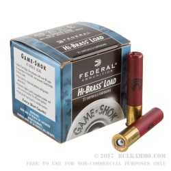250 Rounds of .410 Ammo by Federal -  #6 shot