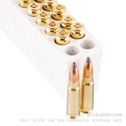 20 Rounds of 7.62x39mm Ammo by Winchester Super-X - 123gr SP
