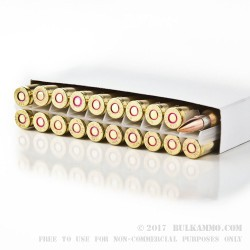 20 Rounds of .308 Win Ammo by Prvi Partizan - 145gr FMJBT