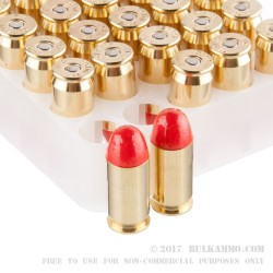 50 Rounds of .45 ACP Ammo by Federal Syntech - 230gr Total Synthetic Jacket (TSJ)
