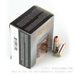 20 Rounds of .38 Spl Ammo by Magtech First Defense - 95gr +P SCHP