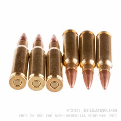 200 Rounds of .308 Win Ammo by Remington - 150gr MC