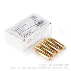 510 Rounds of 5.56x45 Ammo by MEN - 56gr FMJ